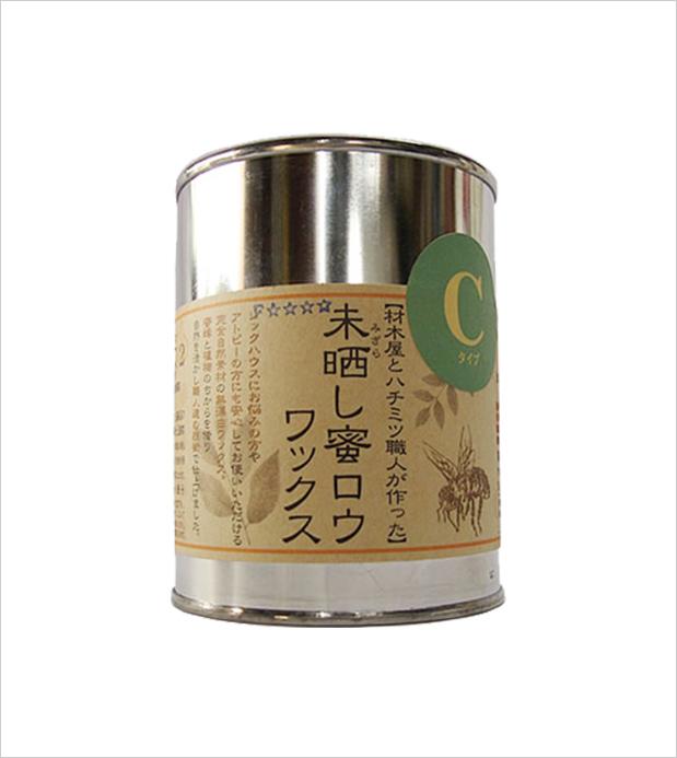 小川耕太郎∞百合子社 未晒し蜜ロウワックス/Cタイプ300mL